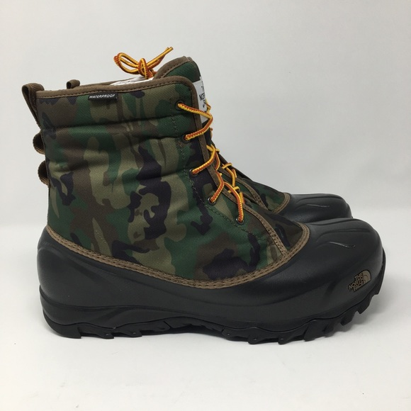 c98428a4d97 The Northface Mens Tsumoru Boot Camo Mens water NWT